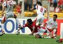 图文:[亚洲杯]印尼VS巴林 多萨里越过防线
