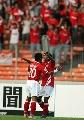 图文:[亚洲杯]印尼VS巴林 布迪庆祝进球
