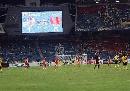 图文:[亚洲杯]中国5-1大马 终场哨声想起
