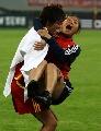 图文:[邀请赛]中国VS墨西哥 玫瑰庆祝进球