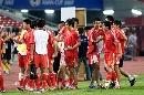 图文:[亚洲杯]中国5-1马来西亚 享受胜利一刻