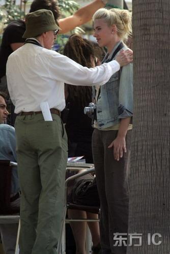 组图:伍迪艾伦新片开机斯嘉丽仍是御用女主角