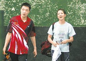 陈宏夫妻携手出战中国大师赛