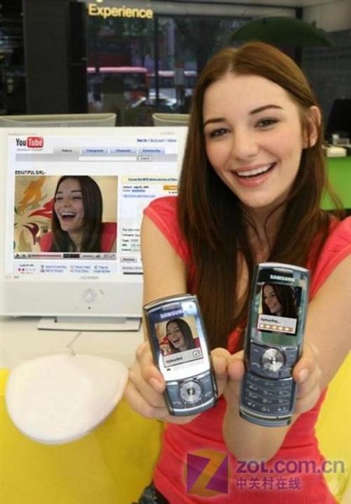 支持Youtube视频功能 三星SGH-L760亮相