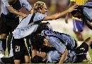 图文:[美洲杯]巴西7-6乌拉圭 体现出韧劲