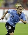 图文:[美洲杯]巴西7-6乌拉圭 弗兰收获进球
