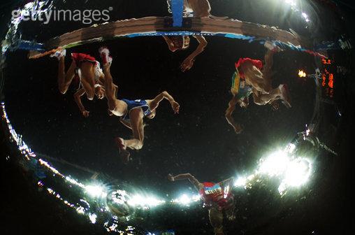 创意体育图集-雅典运动会中男子3000米障碍赛