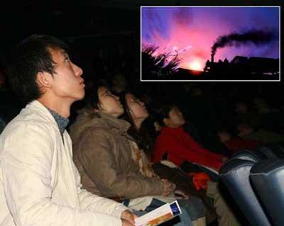 观众欣赏《银河铁道之夜》