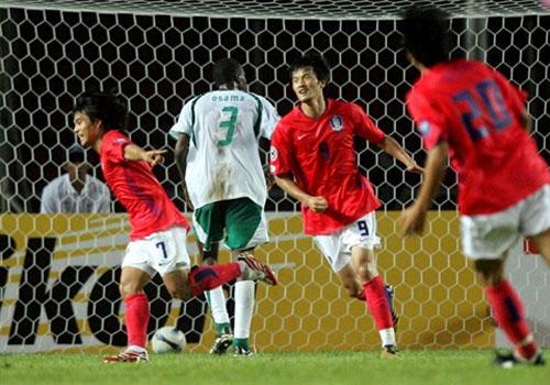 图文:[亚洲杯]韩国1-1沙特 团队进攻显威