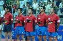 图文:乒超第五轮八一3-1宁波 北仑全体队员