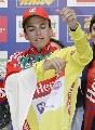 图文:环法大赛第五赛段 坎塞拉拉再穿领骑黄衫