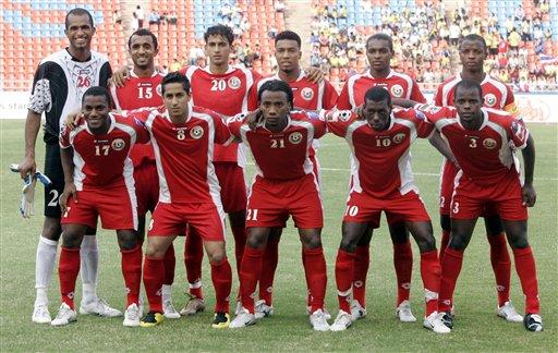 图文:[亚洲杯]泰国2-0阿曼 阿曼队首发11大将