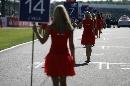 图文:[F1]英国大奖赛美女 站姿也有讲究