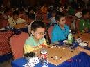图文:[围棋]段位赛火热进行 可爱的定段小选手
