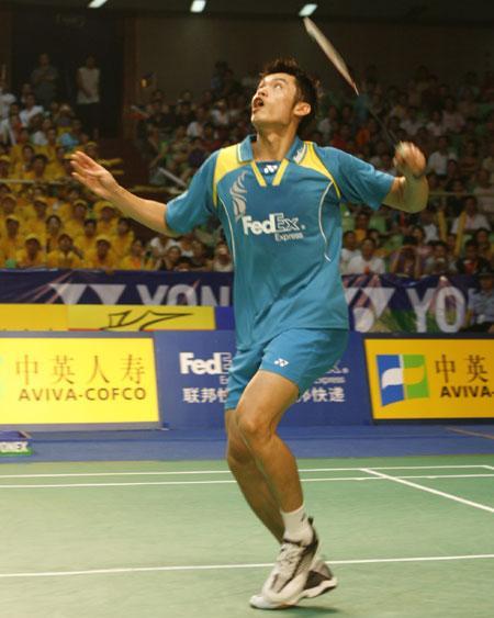 7大叔论坛新人图片1-北京时间7月14日,中国羽毛球大师赛继续半决赛的争夺,在男单的一