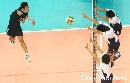 图文:六城会男排决赛武汉3-1胜杭州 多人防守