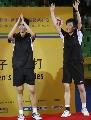 图文:印尼组合击败中国女双夺冠  幸福冠军组合