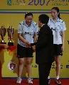 图文:印尼组合击败中国女双夺冠  心存遗憾
