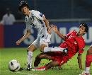 图文:[亚洲杯]韩国1-2巴林 姜敏寿封堵不及