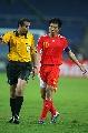 图文:[亚洲杯]中国2-2伊朗 郑智质疑主裁