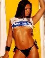 图文:巴西Corinthians足球宝贝
