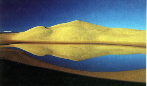 阿尔金沙泉