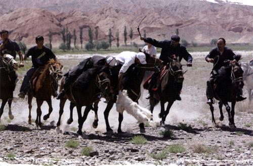 柯尔克孜族叨羊