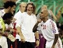 图文:[亚洲杯]卡塔尔1-2阿联酋 梅楚笑逐颜开