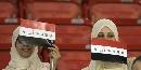 图文:[亚洲杯]伊拉克0-0阿曼 伊拉克女球迷