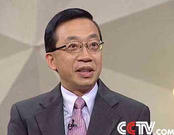 香港特别行政区驻京办事处主任曹万泰先生做客会客厅
