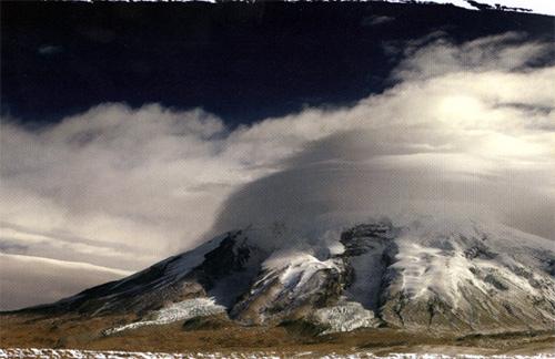 神秘莫测的慕士塔格峰