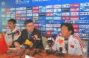 图文:[亚洲杯]国足赛前发布会 新闻发布会现场