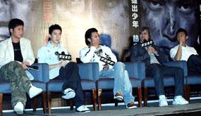 《男儿本色》北京首映