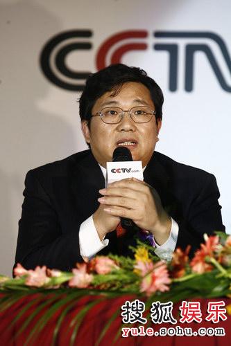 图:签署现场-央视副总编辑程宏