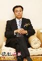 图文:央视国际搜狐签约现场 程宏在贵宾室