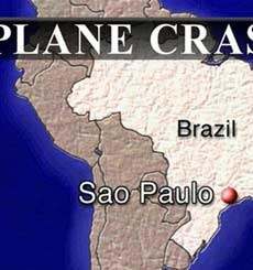 巴西空客撞加油站示意图