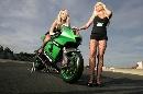图文:[MotoGP]德国站美女 迷人的双腿