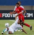 图文:[亚洲杯]沙特VS巴林 贾萨姆飞铲解围