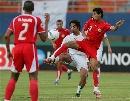 图文:[亚洲杯]沙特VS巴林 多萨里中场分球
