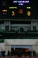 图文:[亚洲杯]中国0-3乌兹 终场计分牌