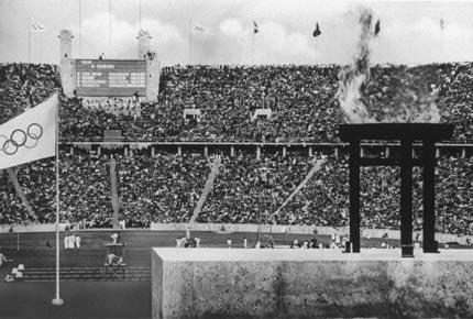 1936年8月柏林奥运会,奥运体育馆全景