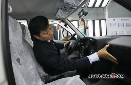 一汽集团公司总经理竺延风先生