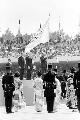 组图:1968年墨西哥城奥运会 总统宣布开幕