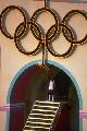 组图:1984年洛杉矶奥运会 总统电视里宣布开幕