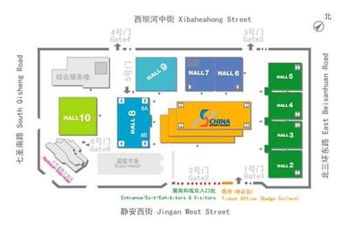 中国国际展览中心位置图