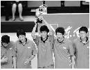 图文:第六届城运会男子排球决赛 南京队夺冠军