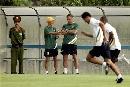 图文:[亚洲杯]澳洲备战日本 教练组讨论