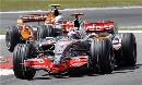 图文:[F1]欧洲站第三次练习 阿隆索被追赶