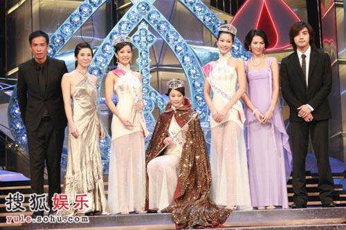 独家组图:座次确定 2007年香港小姐完美落幕 9