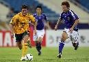 图文:[亚洲杯]日本5-4澳洲 科威尔边路疾进